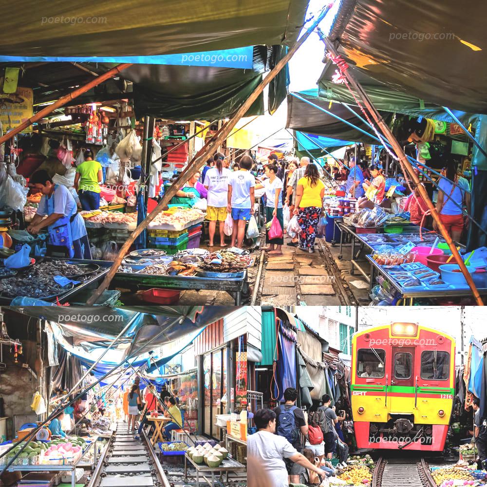 ตลาดร่มหุบ8 - ตลาดร่มหุบ สถานที่ท่องเที่ยวติดอันดับของประเทศไทย